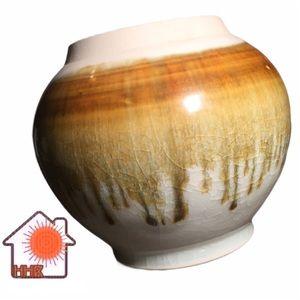 Vintage Signed Robert Deeble Studio Pottery Vase